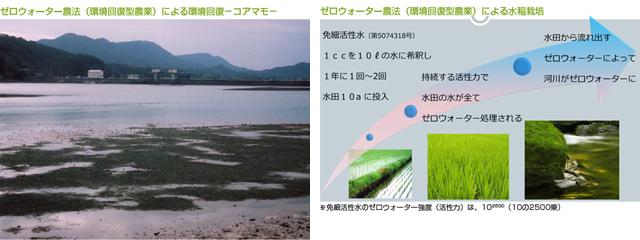 環境回復型農法の特徴